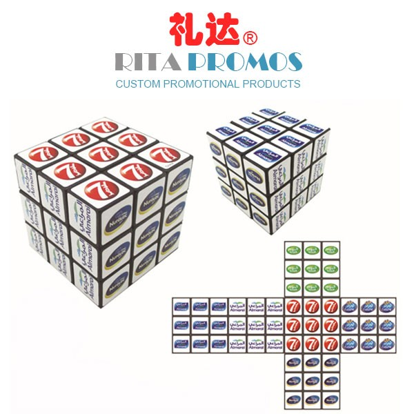 Custom 9 Panels Puzzle/Magic/Rubik's Cube for Promotional Gifts (RPPRC-1)