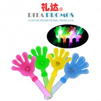 Promotional Gleaming Hand Clapper for Evening Party (RPPHC-2)