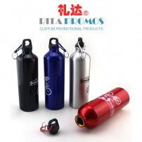 Promotional Aluminium Sports Water Bottle with Imprinted Logo (RPASB-1)