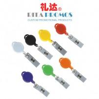 Round Retractable Belt ID/Badges Holder (RPBIDCH-1)