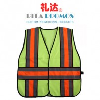 HI-VIS Safety Vest with 3M Reflective Tapes (RPUW-2A)