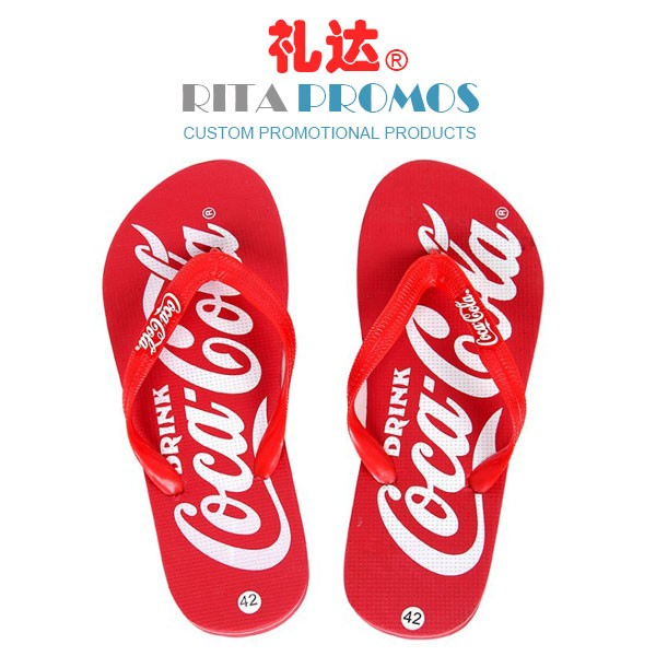 Advertising Slippers Promotional Flip Flops Outdoor Footwear (RPBS-3)