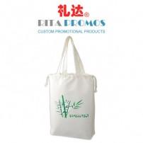 Promotional Bamboo Fibre Tote/Drawstring Bag with Handle (RPBFDB-3)