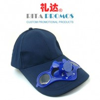 Promotional Cap with Solar Fan (RPCSF-1)
