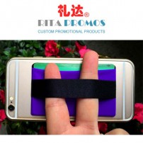 Horizontal Smart Phone Credit Card Pockets ID Card Holder with Stiker (RPMIDP-2)