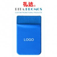Vertical ID/Credit Card Holder with Sticker & Customized Logo (RPMIDP-3)