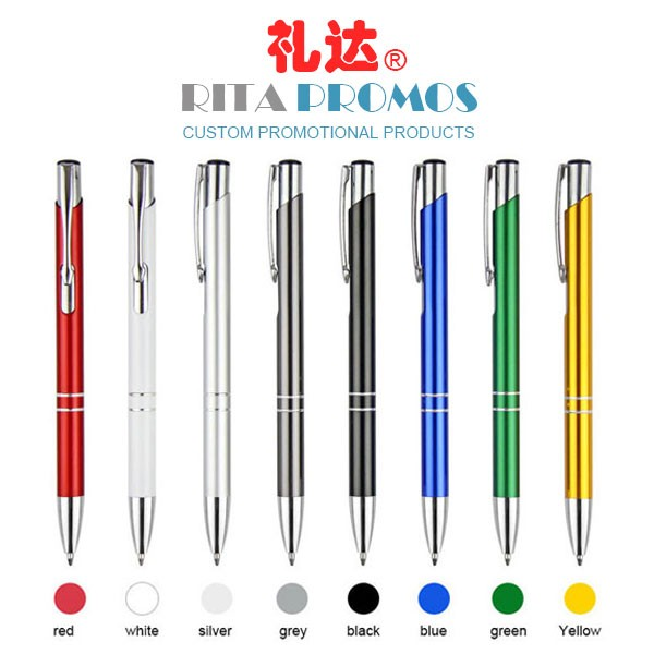 China Promotional Metal Ballpoint Pens with Your Logo (RPCPP-8)