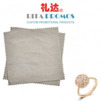 Microfibre Jewelry Polishing Clothes with Customized Logo (RPMFC-008)