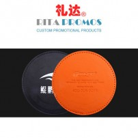 Promotional PU Leather Coasters (RPPUBC-001)