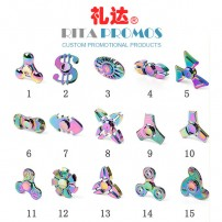 Colorful Whirlwind Fidget Spinner Toys Stress Reducer Anti-Anxiety Toy for Children and Adults (RPCFFS-1)