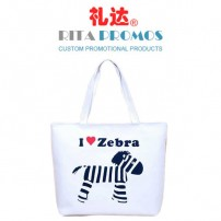 Customized White Cotton Canvas Handbags Promotional Tote Bags (RPCTB-2)