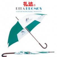 Custom Logo Imprinted Golf Umbrella with J Shaped Handle (RPUBL-012)