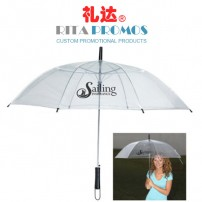 Custom Promotional Clear Umbrellas (RPUBL-023)