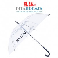 Personalized Promo Clear Umbrellas (RPUBL-024)