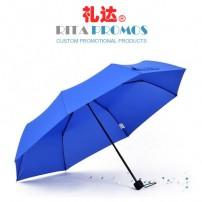"""21"""" Tri-mini Promotional Umbrellas (RPUBL-029)"""