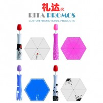 Promotional Gifts Bottle Umbrella with Rose Handle (RPUBL-035)