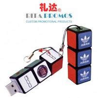 Rubik's Cube USB Sticks with Imprinted Logo (RPPUFD-7)