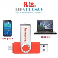 USB Flash Drive for Smartphone Tablet PC Mobile Storage (RPPUFD-15)