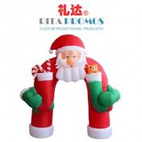 Custom Christmas Santa Airblown Arch Inlfatables (RPBUS-004)