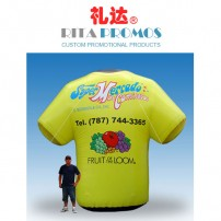 Custom Sports Event T-shirts Shaped Inflatables (RPBUS-009)