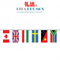 Olympics World Flag Country Flags PVC Polyester Bunting (RPPBF-002)