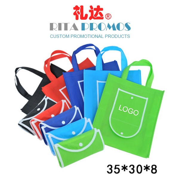 Promotional Non-woven Folding Tote Bags RPNTB-4