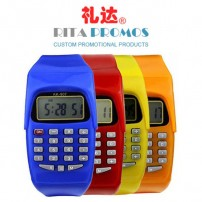 Custom Promotional Giveaways Electronic Calculator Watch for Students (RPPSW-3)