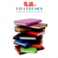 Promotional PU Cover Notebook with Imprinted Logo (RCPNB-1)